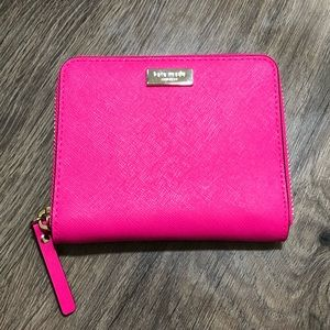 Kate Spade Small Darci Leather Zip Around wallet